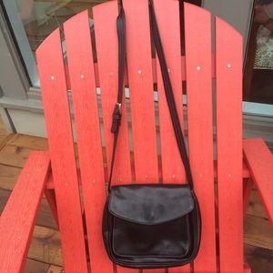 Tignanello - Black Saddlebag Handbag